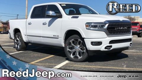 2020 RAM All-New  1500 Limited 4x4 Crew Cab 5'7 Box